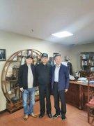 2019年11月5日原总参陆航局参谋长于进海将军、河南省农科院王书记参观考察贝博集团