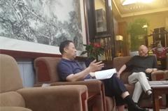 贝博集团董事长朱小国先生与联合国