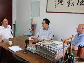 贝博集团朱董、中国金茂马总、河南